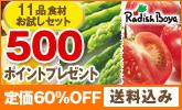 【送料込み】初夏の厳選食材11品♪お試しセット1,980円!【500ポイント】付き!